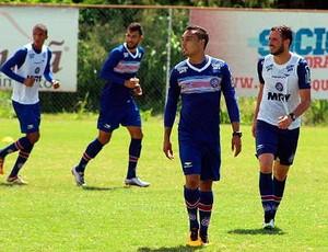 treino do Bahia; Lucas Fonseca; Edigar Junio (Foto: Divulgação/EC Bahia)