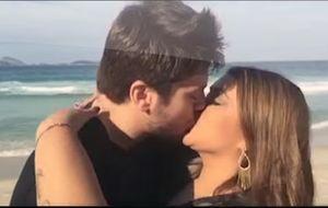 Em cena românticas com seu marido, Preta Gil usa Snapchat para lançar clipe de música inédita