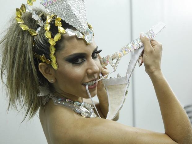 Mulher Melão (Foto: Isac Luz / EGO)