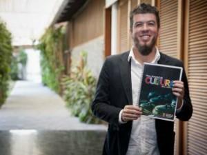Secretário de Cultura de Vitória, Alexandre Lima (Foto: Yuri Barichivich/ PMV)