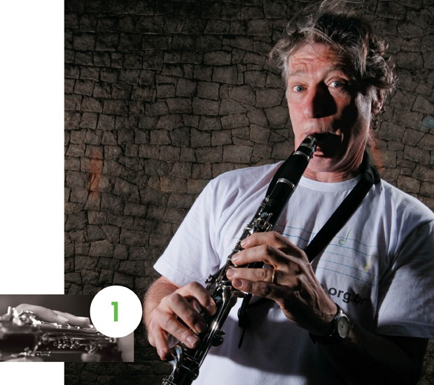 O maestro...  (Foto: Manoel Marques)
