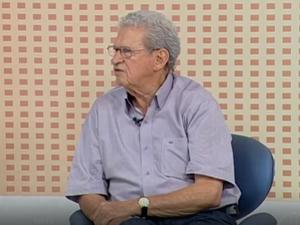Humberto Souto realiza participa de entrevista (Foto: Reprodução/Inter TV)