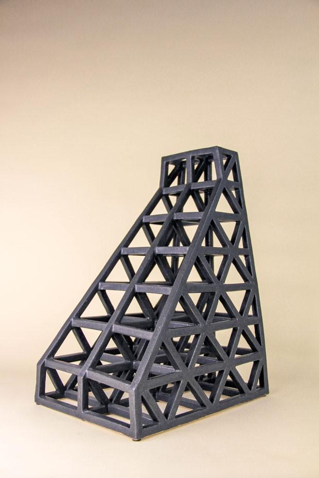 Brutalismo e estética industrial influenciam o design de Ben Medansky (Foto: Divulgação)