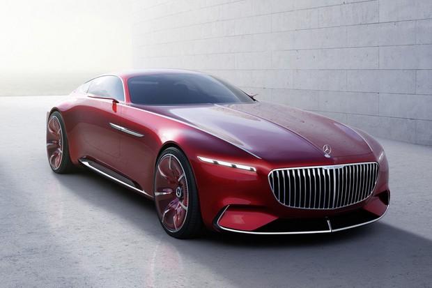 Mercedes-Maybach Vision 6 (Foto: Reprodução)