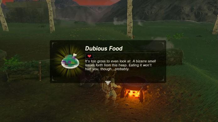 Como cozinhar as receitas secretas em Zelda: Breath of the