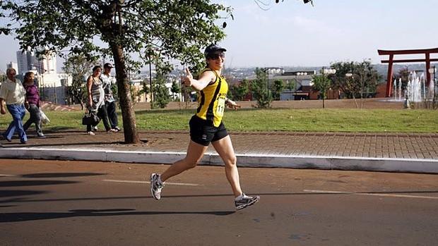 óculos escuros eu atleta (Foto: Arquivo Pessoal)