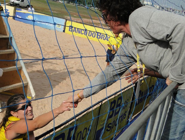 vôlei de praia Shaylyn Brasília (Foto: Helena Rebello)