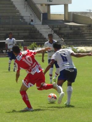 CRB x Bahia Copa do Nordeste sub 20 (Foto: Viviane Leão/GloboEsporte.com)
