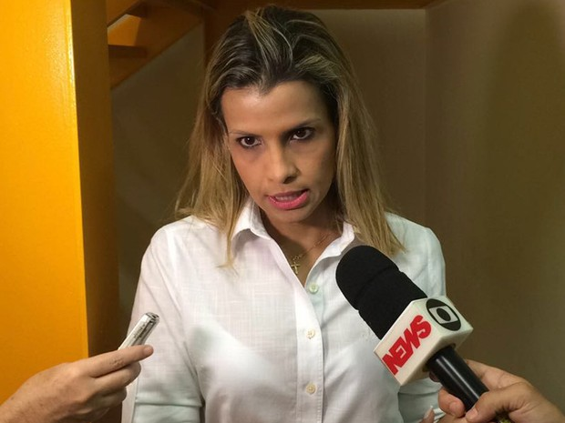 Delegada titular da Delegacia Da Criança e do Adolescente Vítima (DCAV), Cristiana Bento. (Foto: Henrique Coelho)