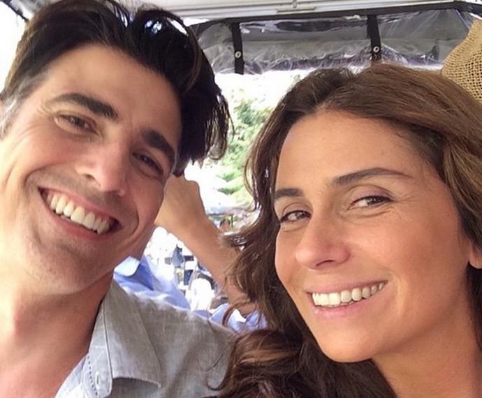Gianecchini e Antonelli se divertem juntos (Foto: Arquivo Pessoal)