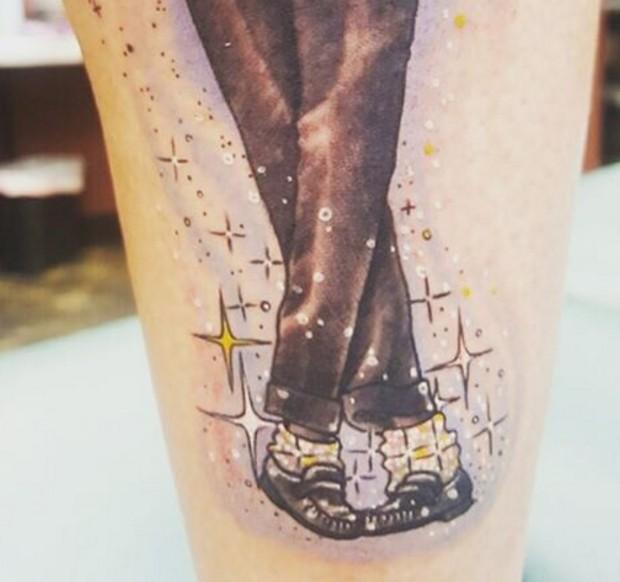 Tatuagem de Prince Jackson (Foto: Reprodução/Instagram)