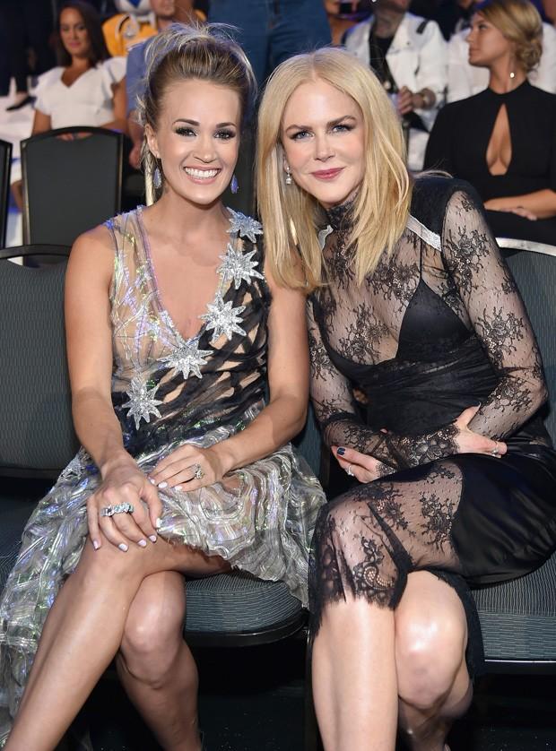 Carrie Underwood e Nicole Kidman (Foto: Getty Images)