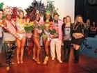 Eleita a corte que irá abrir os desfiles de carnaval em Mogi das Cruzes