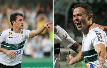 Garçom e artilheiro: Juan e Kleber têm participação em 54% dos gols do Coxa