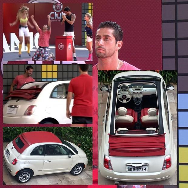 Ex-BBB Marcelo Zagonel vende carro que ganhou no programa (Foto: Reprodução/Instagram)