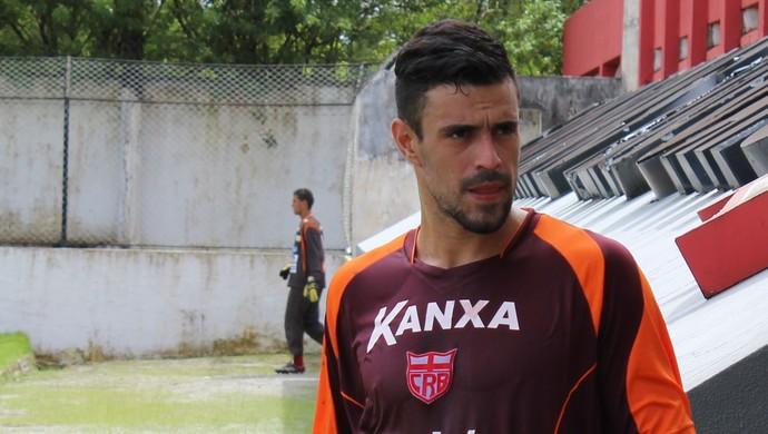 Alex Willian, meia do CRB (Foto: Caio Lorena / GloboEsporte.com)