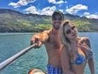Renata D'Ávila posa com o namorado: 'Me imagino passando a vida com ele'