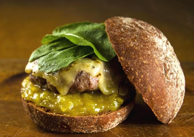 Hambúrguer com carne de porco (Foto: Divulgação)