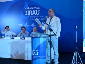 Inauguração UHE Jirau (Foto: Giseli Buscariollo/G1)