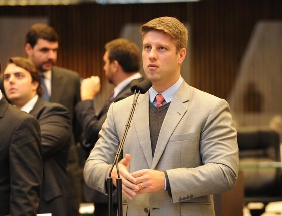 Requião Filho é candidato à prefeitura de Curitiba (Foto: Pedro de Oliveira/Alep)