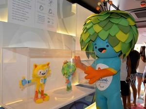 Tom, mascote dos Jogos Paralímpicos (Foto: Divulgação)