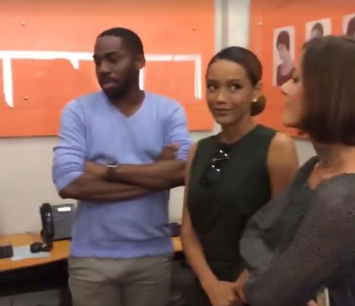 Taís Araújo e Fernanda de Freitas falam sobre aprticipação no Din Dong (Foto: Gshow)
