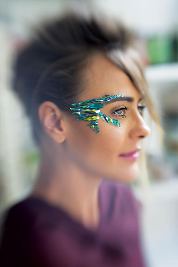Looks de Carnaval criados por Celso Kamura para a Vogue Brasil (Foto: Divulgação)