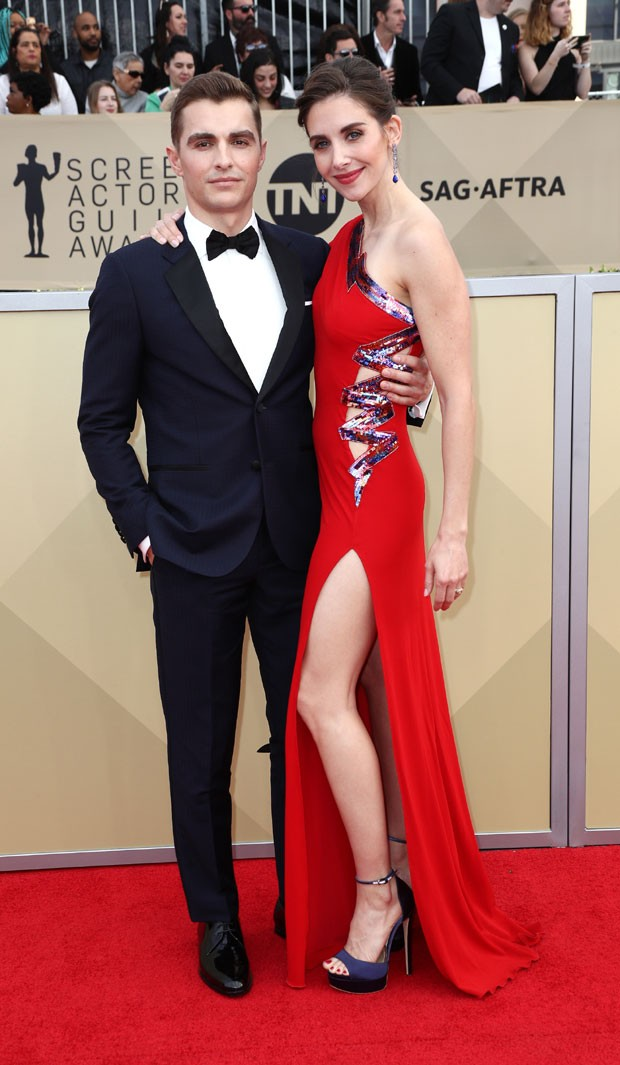 Dave Franco e Alison Brie Foto Getty Images