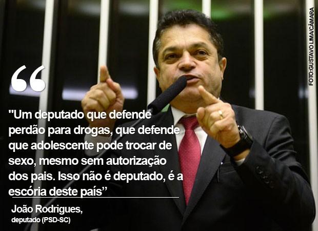 Card João Rodrigues (Foto: Reprodução)