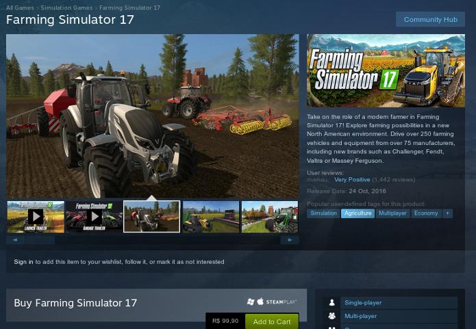 Saiba os requisitos e como baixar o jogo Farming Simulator