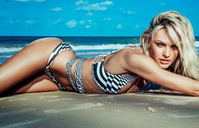 Candice Swanepoel  (Foto: Acervo Vogue)