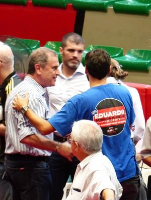 Kléber Leite - Flamengo - eleição