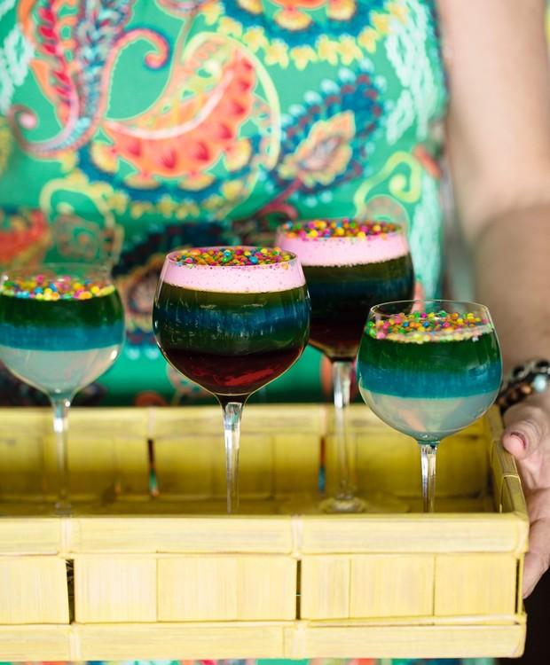 Gelatina colorida (Foto: Elisa Correa / Editora Globo)