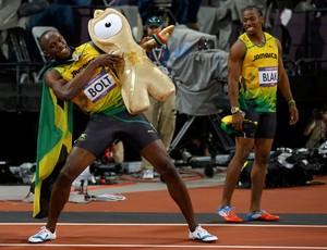 Usain Bolt 100m eliminatória corrida olimpíadas 2012 (Foto: Reuters)