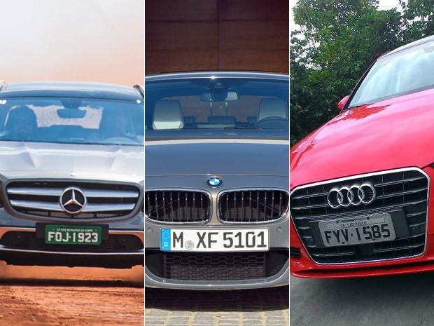 Juntas, Mercedes, BMW e Audi perderam 27% das vendas de janeiro a maio (Foto: Divulgação/G1)