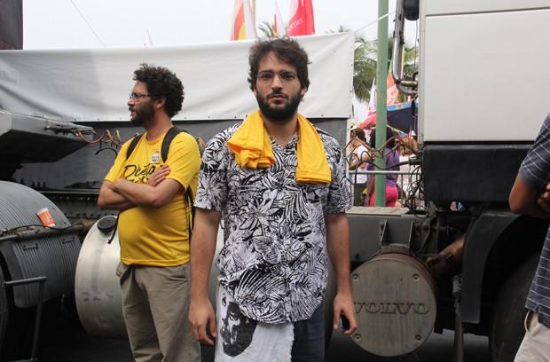 Humberto Carrão (Foto: Wallace Barbosa/AgNews)