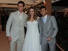 Com Neymar de padrinho, Ganso se casa em São Paulo