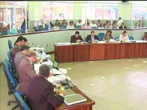 Sessão na Câmara de Santarém encerrou às 17h (Foto: Reprodução/TV Tapajós)