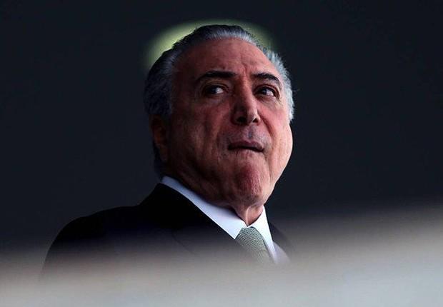 O presidente Michel Temer durante evento em Brasília (Foto: Marcos Correa/PR)