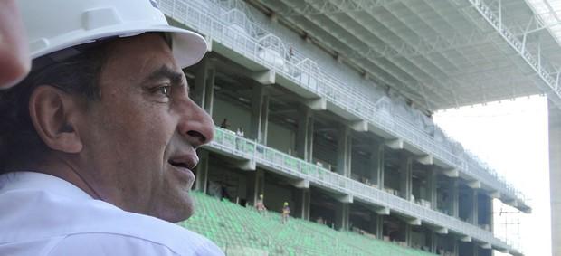 Alexandre Kalil, presidente do Atlético-MG (Foto: Fernando Martins / Globoesporte.com)