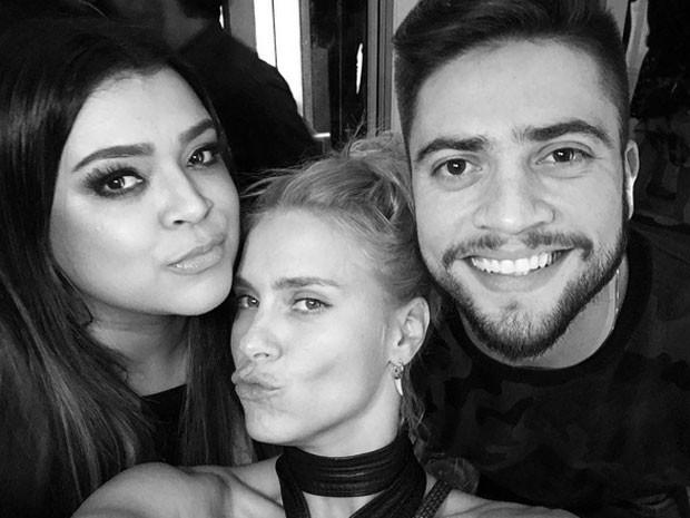 Preta Gil, Carolina Dieckmann e Rodrigo Godoy em festa na Zona Sul do Rio (Foto: Instagram/ Reprodução)