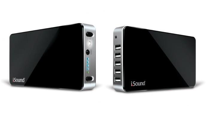 Custando em torno de R$ 500, a iSound Portable Power Max 4590 possui 16.000 mAh e cinco saídas USB (Foto: Divulgação/iSound)