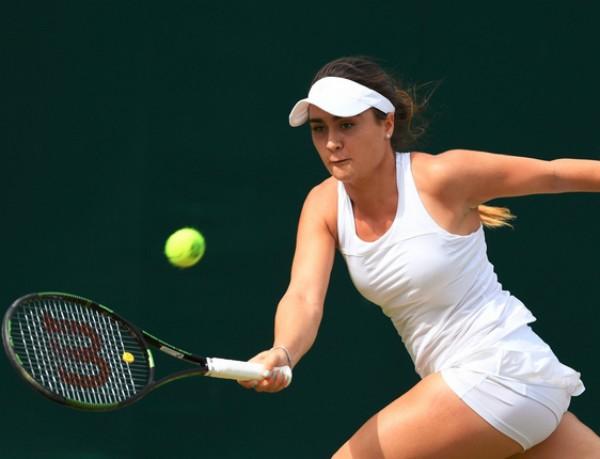 A tenista Gabriella Taylor, do Reino Unido (Foto: Reprodução/Twitter)