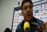 """Após empate, Estevam Soares prega filosofia """"João-de-barro"""" no Tupi-MG"""