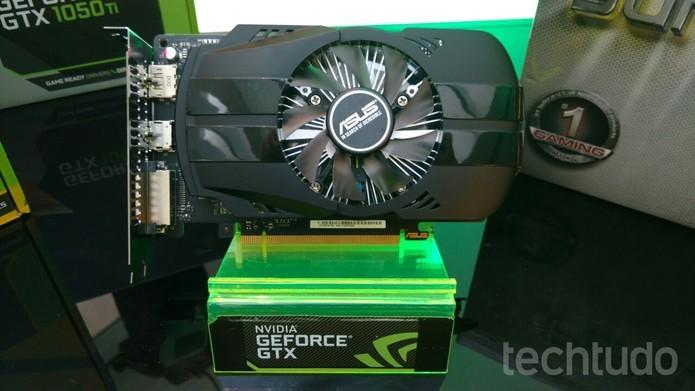 Nvidia lançou mais placas, algumas com preços baixos, como a GTX 1050 que custa a partir de R$ 900 no Brasil (Foto: Viviane Werneck/TechTudo)