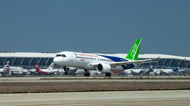 Avião vai concorrer com fabricantes consagrados, como a Boeing e a Airbus (Foto: Divulgação)
