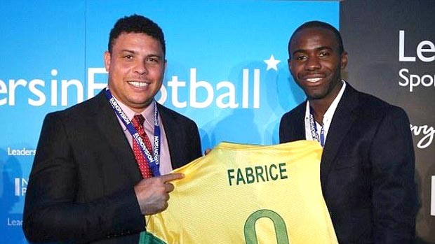Ronaldo e Muamba (Foto: Reprodução)