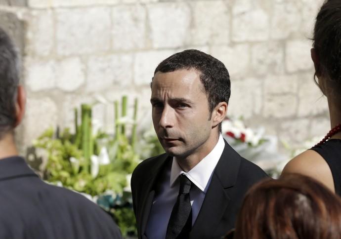 Nicolas Todt no funeral de Jules Bianchi (Foto: AP)