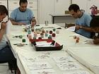 Alunos da Apae desenvolvem habilidades através do artesanato