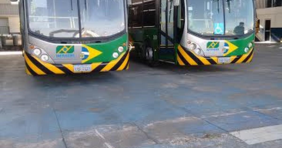 Ônibus que farão transporte no aeroporto chegam a Santarém - Globo.com